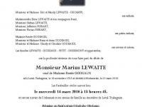 LEWAITE Marius
