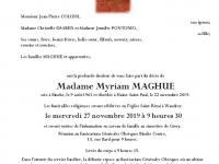 MAGHUE Myriam