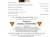 MALENGREZ Stéphane