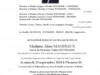 Mandiaux Aline