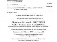 MESTRINER Fernando