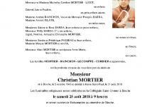 Mortier Christian