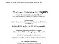 Motquin Ghislaine