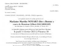 NOYART Marthe