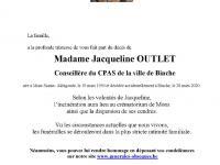 OUTLET Jacqueline