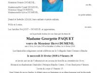 Paquet Georgette