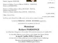 PARDONGE Robert