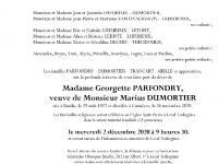 PARFONDRY Georgette