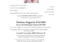 Pazard Huguette