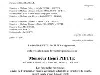 Henri PIETTE