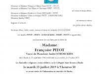 PITOT Françoise