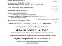 Platiaux André