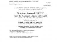 PREVOT Fernand