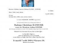 RANDOUR Christiane