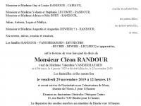 RANDOUR Cléon