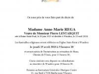 REGA Anne-Marie