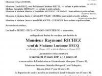 RICHEZ Raymond