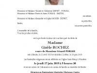 ROCHEZ Gisèle