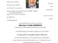 Rombaux Freddy