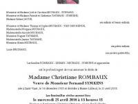 ROMBAUX Christiane