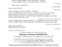 ROUSSEAU Christine