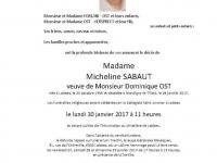 Sabaut Micheline