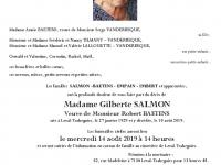 SALMON Gilberte