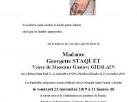 Staquet Georgette