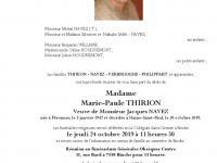 Thirion Marie Paule