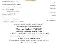 Tricoté Paulette