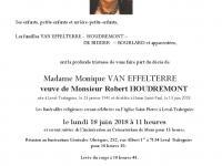 VAN EFFELTERRE Monique