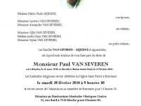VAN SEVEREN Paul