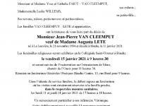 Van Cleemput Jean-Pierre