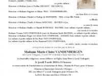 Vandenbergen Marie Claire