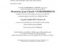 VANKEERSBULCK Jean-Claude