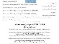 VERDURE Jacques