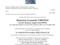 VIRGONE Léonardo