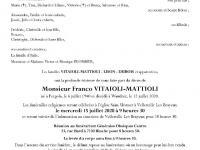 V ITAIOLI-MATTIOLI Franco