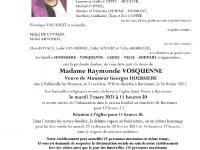 Vosquenne Raymonde