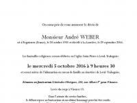 Weber André