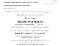 Weymaere Mireille