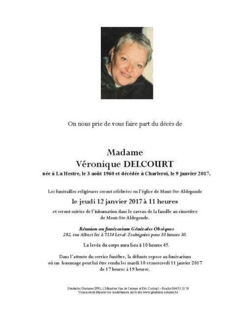 DELCOURT Véronique