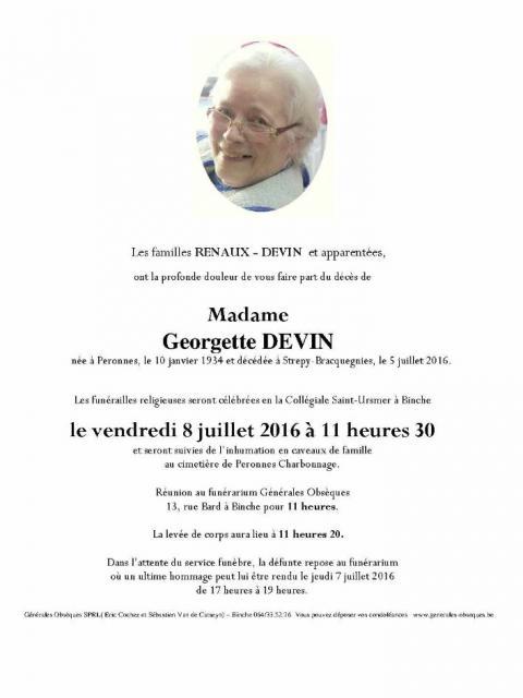 DEVIN Georgette