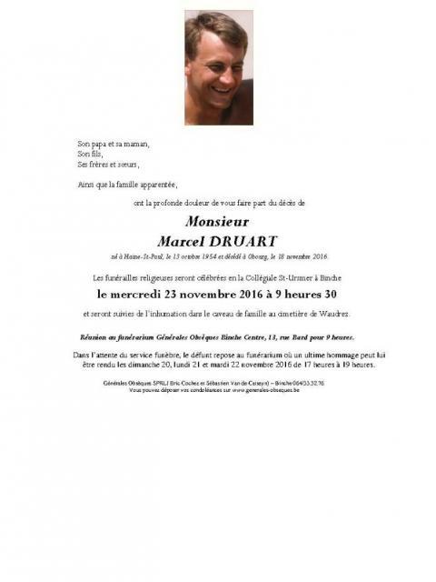 Druart Marcel