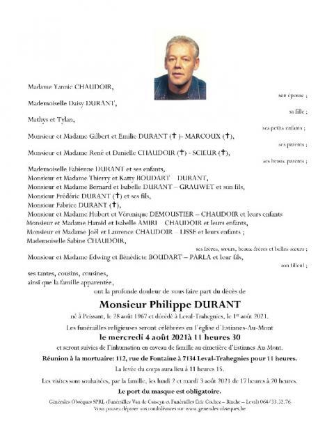 DURANT Philippe