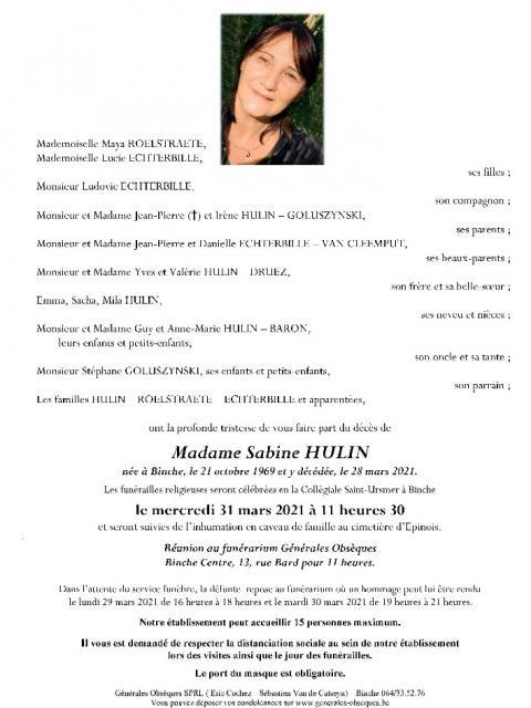 Hulin Sabine