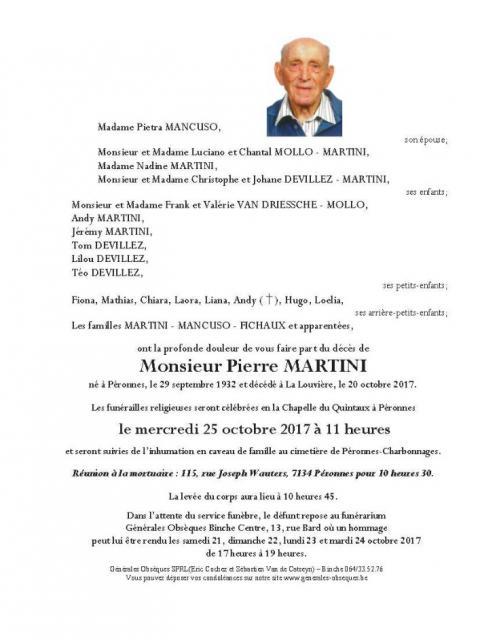 MARTINI Pierre