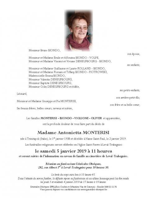 Monterisi Antonietta