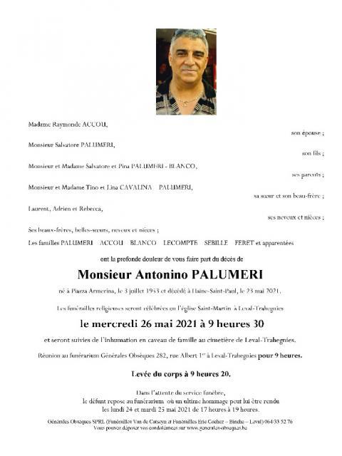 PALUMERI Antonino