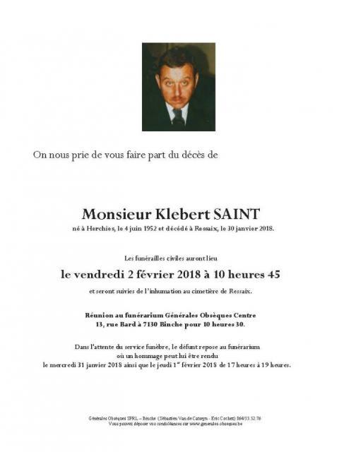 Saint Klebert